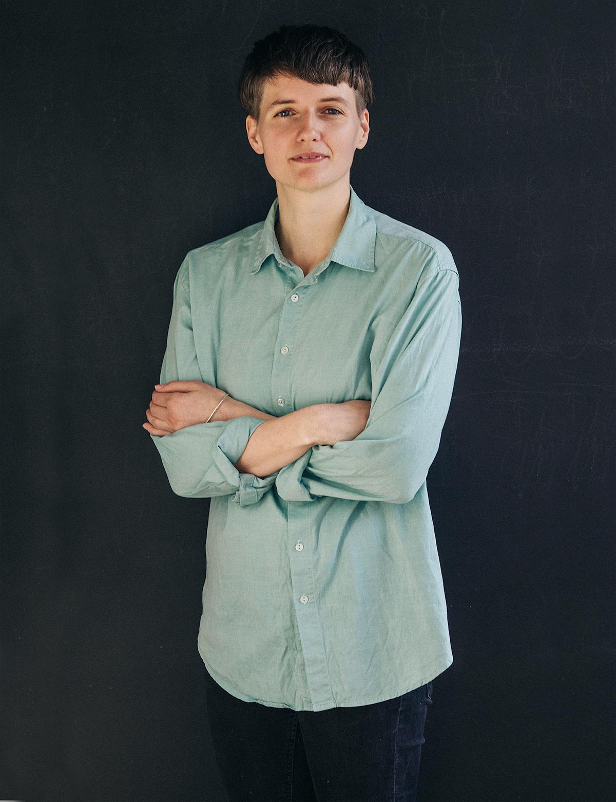 Porträtt på Lisa Malmberg
